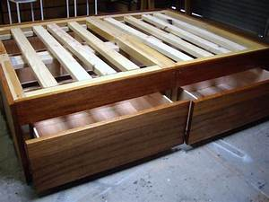 How to Build a DIY Bed Frame with Drawers & Storage