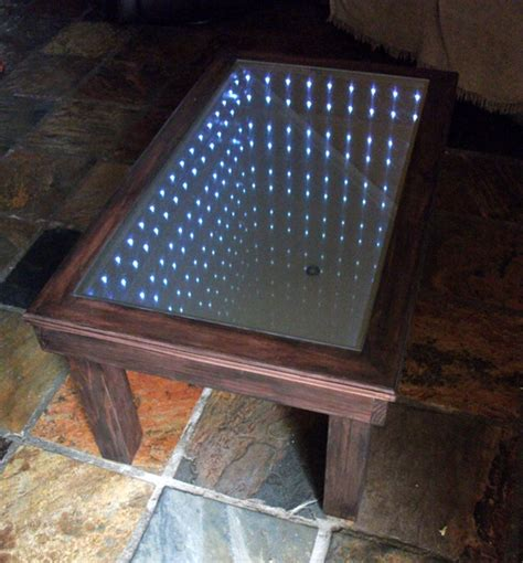 An Infinity Mirror Coffee Table Building Tutorial