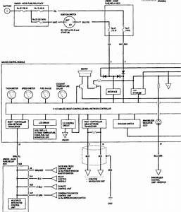 1991 Honda Acura Nsx Wiring Diagram Electrical System