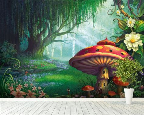mural enchanted forest wallpaper mural by philip straub wallsauce Forest