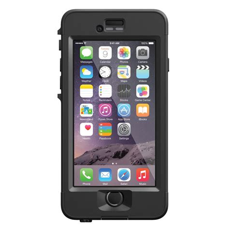 for iphone 6 lifeproof n 252 252 d for iphone 6 black 77 50307 b h