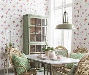Tapeten Schlafzimmer Landhaus : landhaus design tapete aequivalere ~ Sanjose-hotels-ca.com Haus und Dekorationen