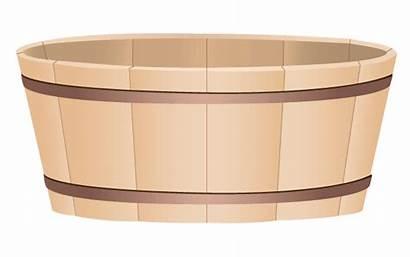 Clipart Wooden Tub Bucket Webstockreview Vectors