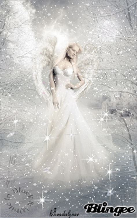 black white christmas angels picture