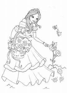 Princess Coloring Pages for Kids | Coloring Lab