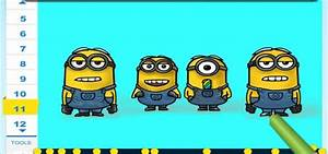 How to Draw Minions from Despicable Me 2 « Drawing ...