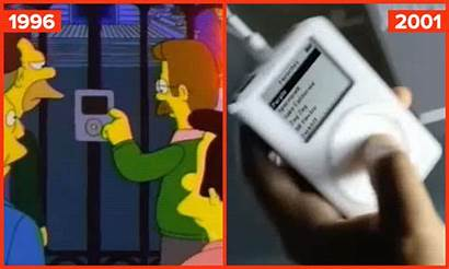 Simpsons Future Times Predicted Bizarrely Ipod Barnorama
