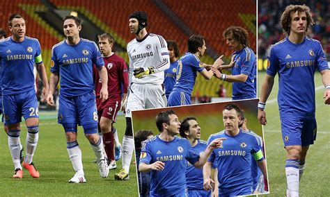 David Luiz and Frank Lampard row - how did the players act ...