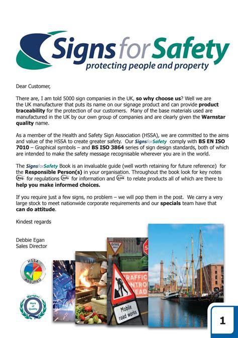 signs  safety brochure  warnstar issuu