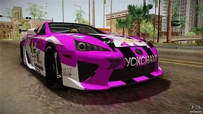 Lexus Lfa Gta Purple Emilia Rezero Andreas
