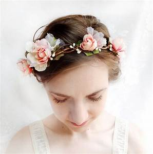How To Create A Flower Wreath Hair Piece My View On