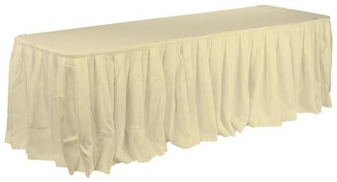 table cloth skirting design ivory table skirting cover for various size tables ivory