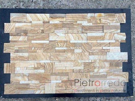 rivestimento listelli legno rivestimenti listelli in quarzite e ardesia a canegrate