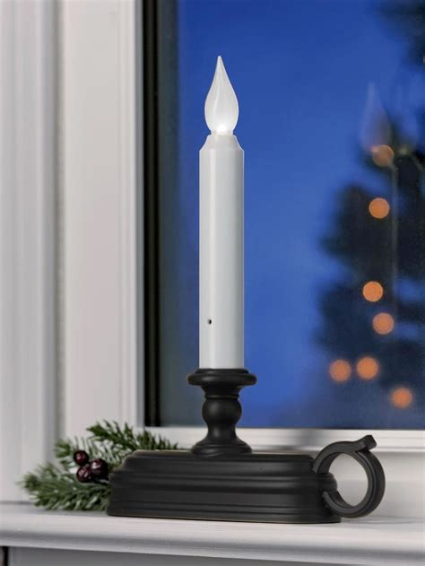 1000 ideas about window candles on electric