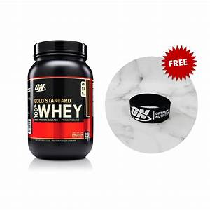 On Gold Standard Whey Protein 2lbs  Clearance