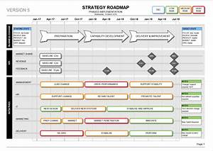 The visio strategy roadmap template is the perfect for Change management communication template