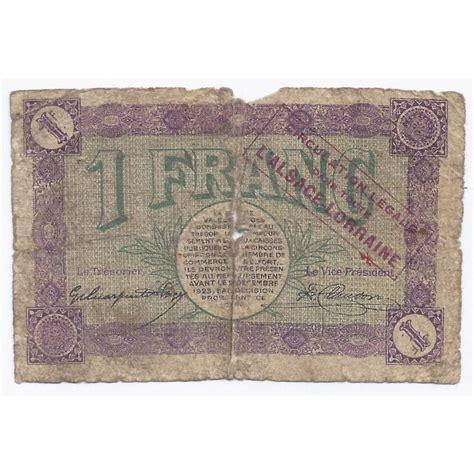 chambre de commerce belfort 90 belfort chambre de commerce 1 franc 1918 beau
