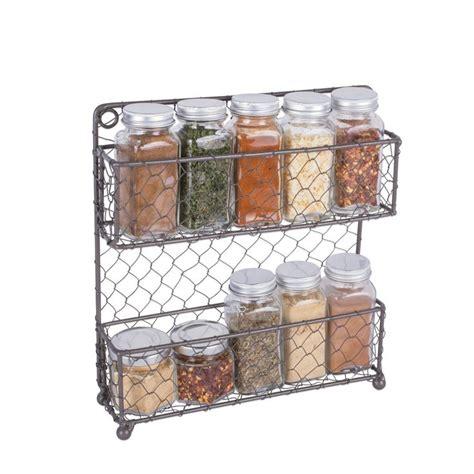 Wire Spice Rack by Best 25 Farm Style Spice Racks Ideas On Farm