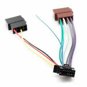 Sony 16 Pin Iso Wiring Harness Lead Cable Adapter Cdx