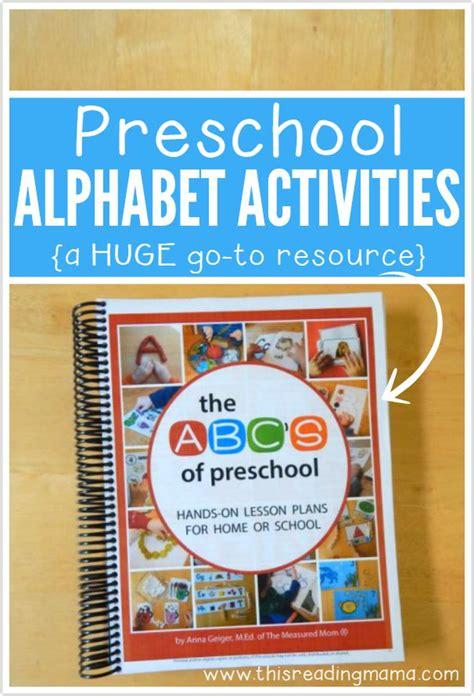 preschool alphabet activities a go to resource 223 | Preschool Alphabet Activities HUGE go to Resource for Parents and Teachers
