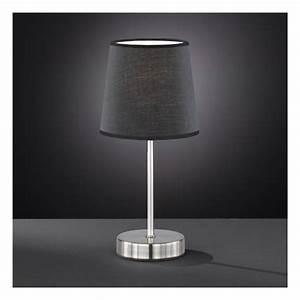 Petite Lampe De Chevet : petite lampe de chevet design lampe de chevet galet gris triloc ~ Teatrodelosmanantiales.com Idées de Décoration