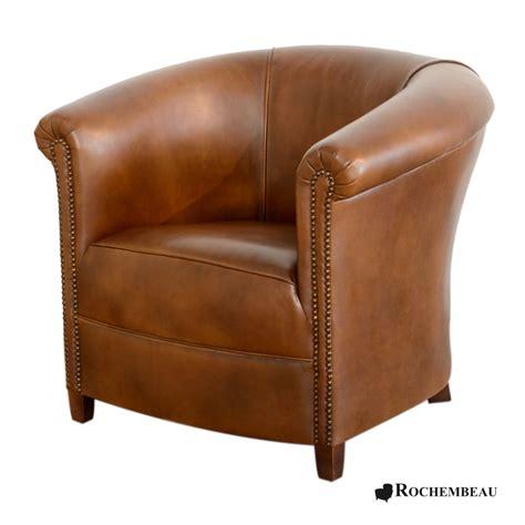 cuir center canape fauteuil brighton fauteuil crapaud tonneau en