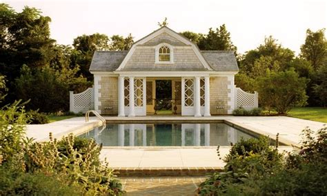 shingle style pool house colonial style pool house designs island style home plans treesranchcom