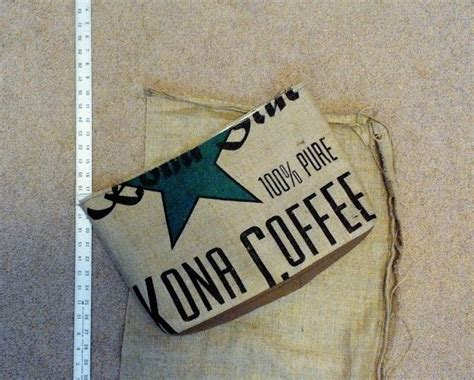 Fast food, burgers, coffee & tea. Kona Coffee Burlap Tote Bag - In Progress - Exterior - Lina and Vi Plymouth MI | Burlap tote ...