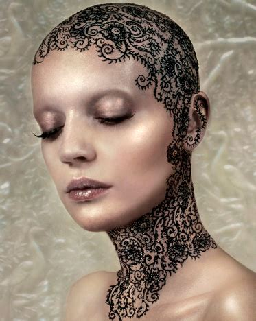 riffat rocks  artistry makeup henna head tattoos