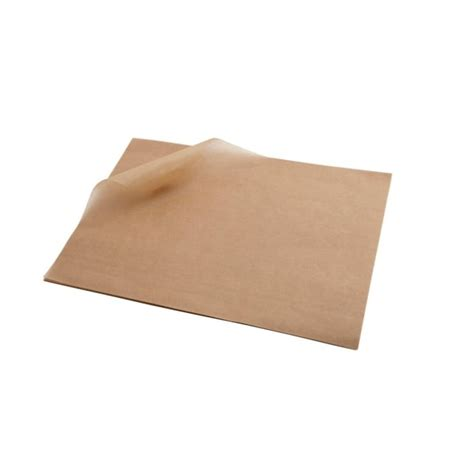 paper brown greaseproof sheets grease baking pack 1000 proof south africa parchment 20cm serving cooksmill disposables food essentials genware buycatering