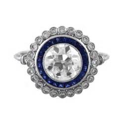 engagement rings with sapphire and sapphire engagement ring estate jewelry