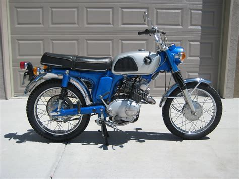 1968 Honda Cl125a 125cc Twin With 4spd Transmission