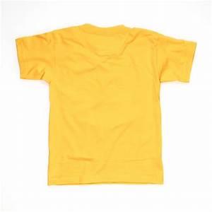 Kinder t shirt gelb