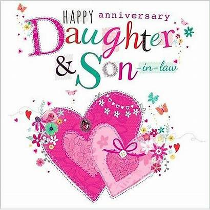 Anniversary Happy Quotes Daughter Law Son Wishes