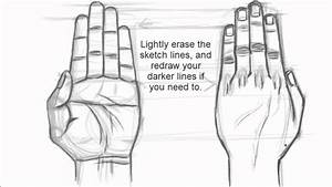 How to Draw Hands (Drawing Hands 1) - YouTube