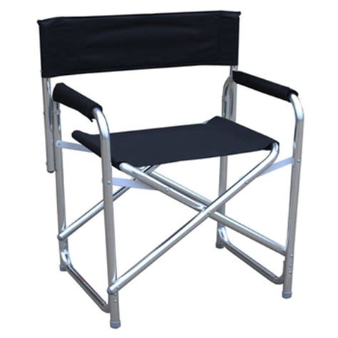 lightweight aluminum folding director chair for cing