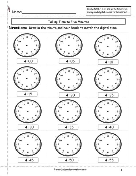 images   grade elapsed time worksheets