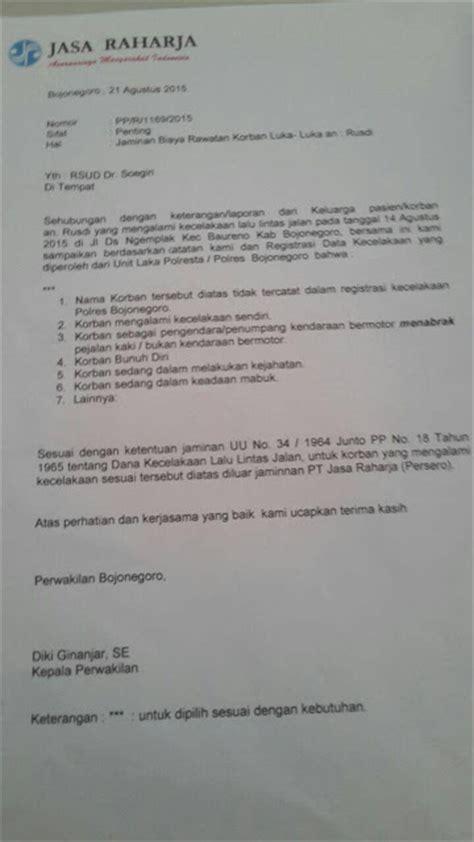 Contoh Laporan Kronologi Kecelakaan by Apakah Kecelakaan Lalu Lintas Ditanggung Bpjs Kis Info