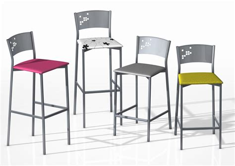 hauteur table bar cuisine tabouret de bar hauteur assise 85 cm mobilier design