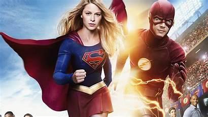 Supergirl Flash Laptop Wallpapers 8d Hdqwalls 1080p