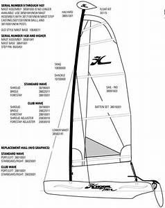 Hobie Wave Mast Parts  U0026 Rigging
