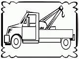 Tow Coloring Truck Pages Sheets Trucks Drawing Boys Frame Realistic Coloringpagesfortoddlers Fun Detailed Popular Clipartmag Coloringhome sketch template