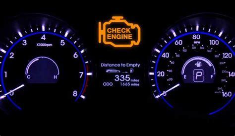 what happens when the check engine light comes on 6 most common crankshaft position sensor symptoms