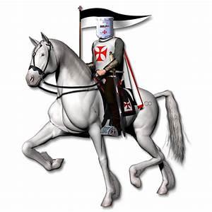 Knight On Horse Clip Art | Knights Templar Graphics #2 ...