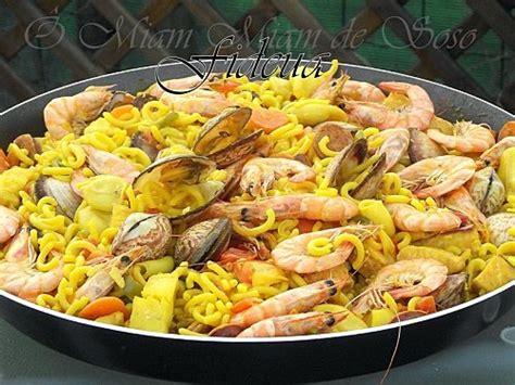 cuisine mediterraneenne recette fideua notée 4 5