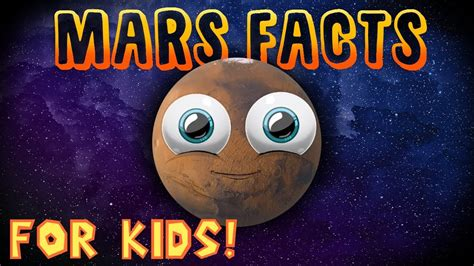 Mars Facts for Kids! - YouTube