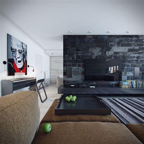 wandgestaltung im wohnzimmer  ideen und beispiele