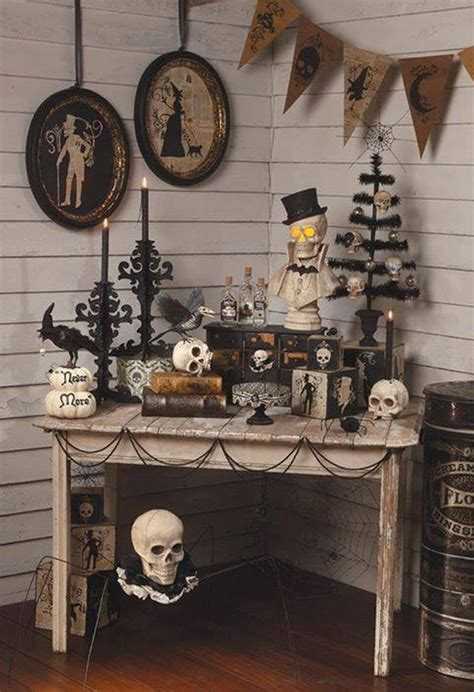 Vintage Halloween Decorations  Throw A Not Too Scary