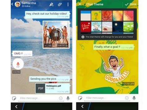 hike messenger launched for blackberry 10 devices gizbot news