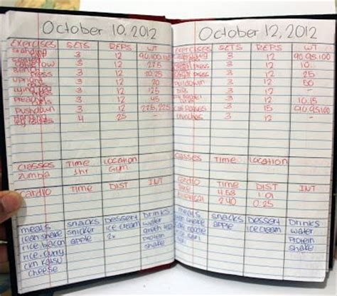 weight training log book the 25 best ideas about workout log on pinterest quick